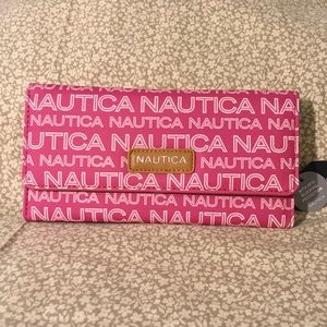 Nautica Money Manager RFID Pink Wallet Clutch